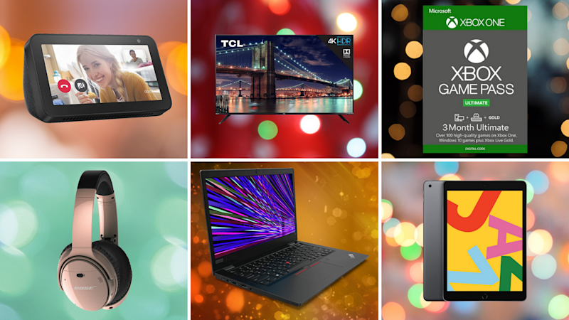TVs, tablets, laptops, oh my: These post-Memorial Day sales are still off the charts. (Photo: Yahoo Life)