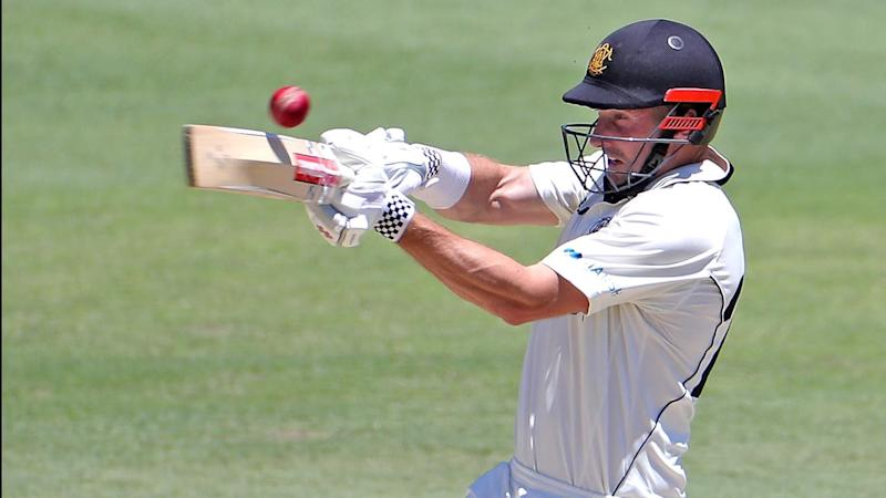 Shaun Marsh cracked a century for WA who set a challenging total for SA to win their Shield clash