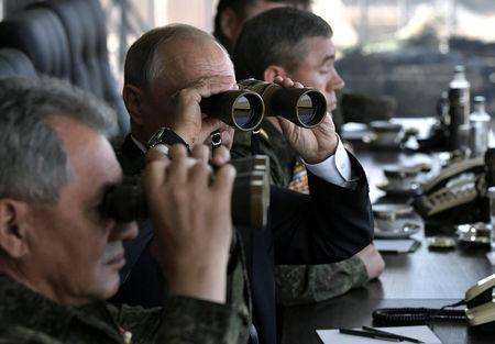Russian, Chinese militaries put their power on display in dramatic drills