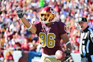Jordan Reed, chain-moving (Tommy Gilligan-USA TODAY Sports)