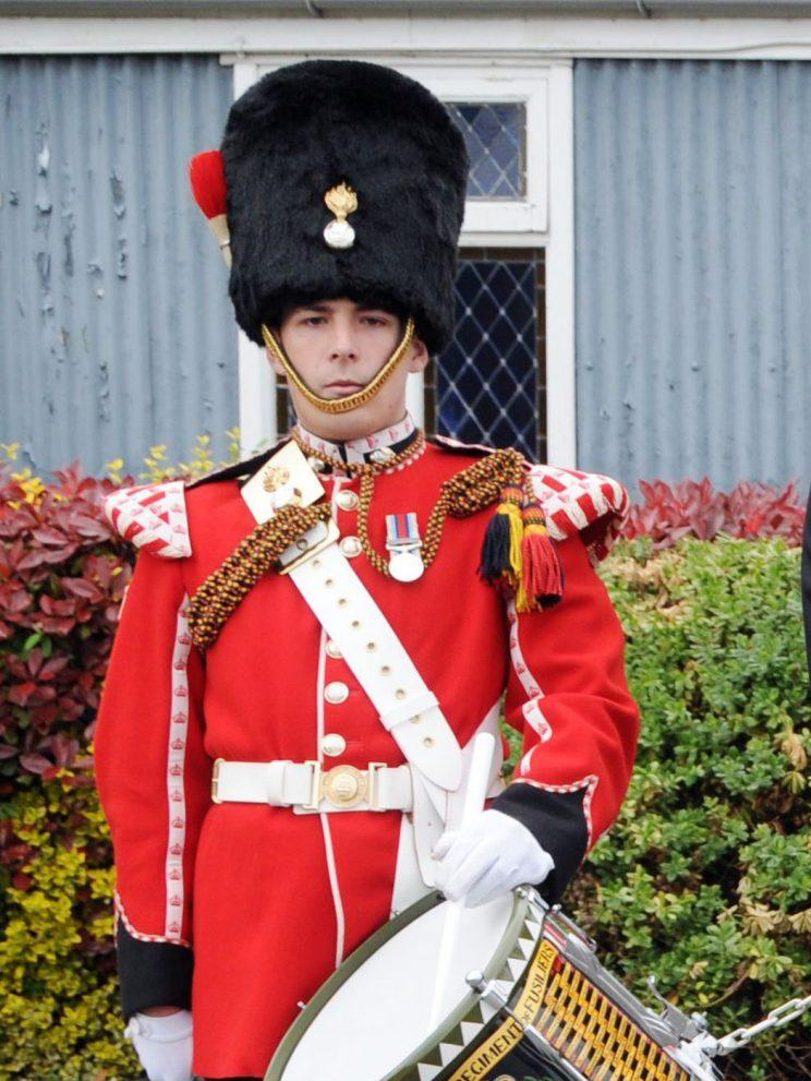 Lee Rigby was off duty when he was attacked (Picture: Rex)