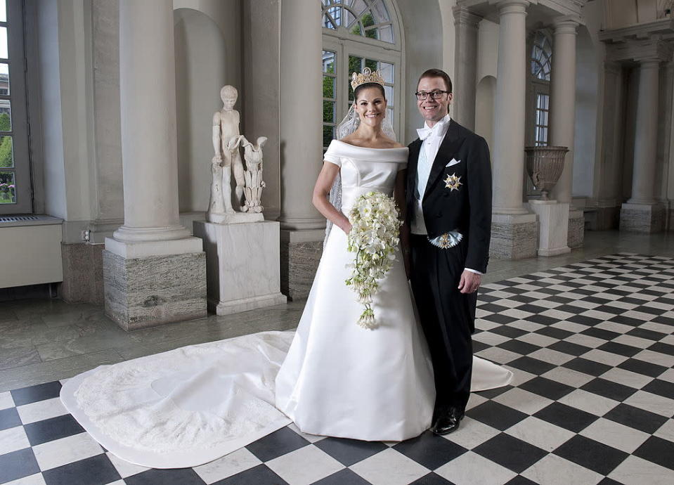 The royal couple wed in 2010. (Getty Images)