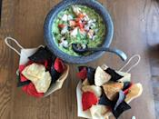 """<p><strong>Where to Get It: </strong>Paddlefish at Disney Springs ($36, serves 4) <strong>Lou's Review: </strong>""""Noticing a lobster trend here? In this dish, big chunks of fresh Maine lobster provide a sweet textual contrast to classic creamy guacamole, which gets amped up <em>even more</em> with zesty tajin seasoning.""""</p>"""
