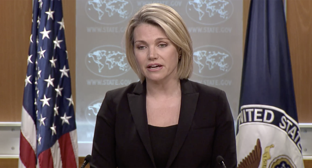 State Department spokeswoman Heather Nauert (Image: The State Department)