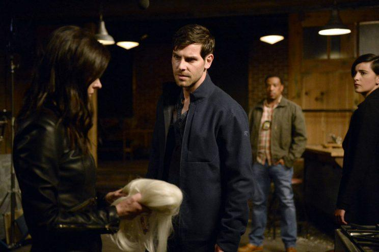 Bitsie Tulloch as Juliette Silverton and David Giuntoli as Nick Burkhardt (Photo by: Allyson Riggs/NBC)