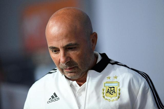 Do-or-die: Argentina must beat Nigeria on Tuesday to avoid crashing out the World Cup (AFP Photo/CHRISTOPHE SIMON)