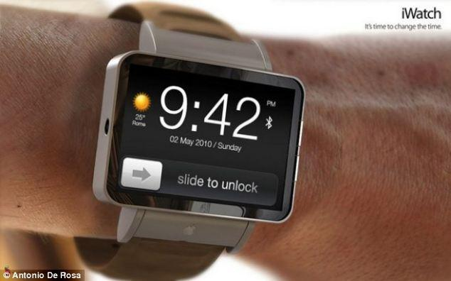 "<p>Antonio De Rosa's iWatch concept maintains much of the functionality of the iPhone, including 'Slide to Unlock' as shown in this picture.</p> <p>For more of De Rosa's designs, visit: <a href=""https://ec.yimg.com/ec?url=http%3a%2f%2fwww.adr-studio.it%2fsite%2f%3fpage_id%3d14%26amp%3balbum%3d1%26amp%3bgallery%3d49%26quot%3b&t=1495957492&sig=d5b.YsVg.wFC9FTmeC8y.Q--~C target=""_blank"">http://www.adr-studio.it/site/?page_id=14&album=1&gallery=49</a></p>"