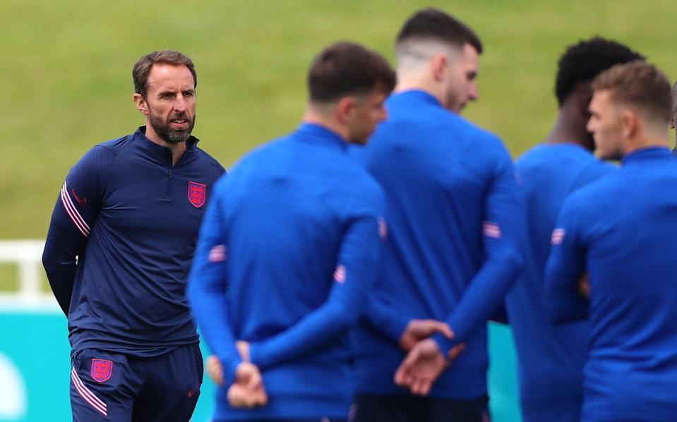 Gareth Southgate has become a hugely important figurehead for the national team - GETTY IMAGES