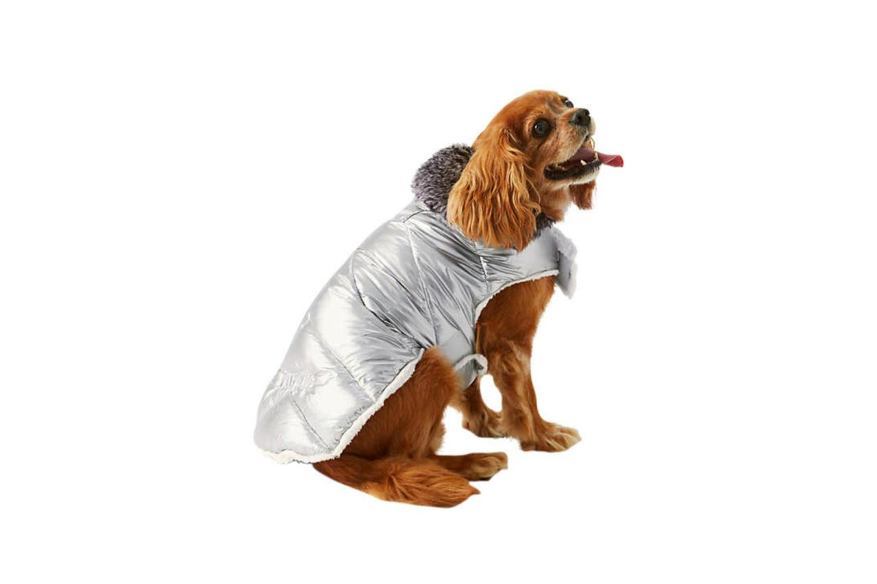 """""""This is perfect for the pup that wants to stay up on the latest doggy trends,"""" says Garth, who's a spokeswoman for Land's End.  <strong>Buy it!</strong> Dog Puffer Vest, $50.00; <a href=""""http://www.anrdoezrs.net/links/8029122/type/dlg/sid/PEO,JennieGarth'sFurryandFabulousHolidayGiftGuideforPetLovers,kellibendertimeinc,Unc,Gal,7479222,201912,I/https://www.landsend.com/products/dog-puffer-vest/id_341158"""" target=""""_blank"""" rel=""""nofollow"""">LandsEnd.com</a>"""