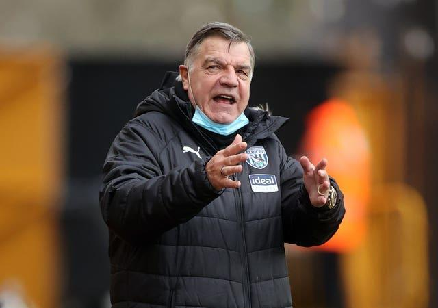Sam Allardyce led West Brom to a 3-2 win over Wolves earlier this season.