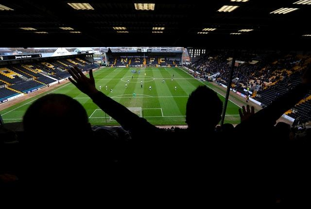 Notts County's clash with Eastleigh was the biggest game in English football on Saturday