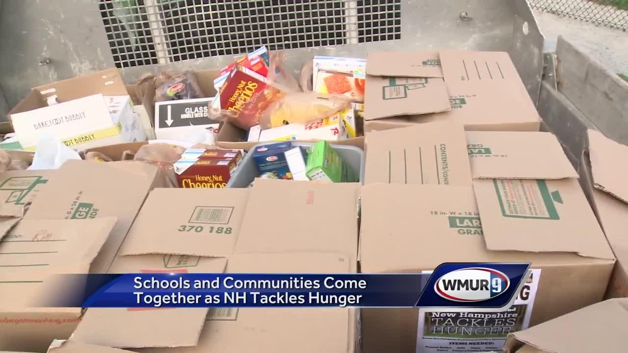Communities, schools team up to Tackle Hunger