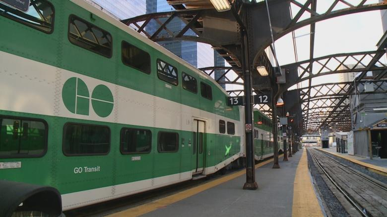 Feet on seats, smelly food, missed stops — all reasons people push emergency strips on GO trains
