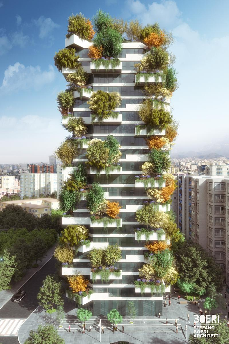 "Small green spaces create large-scale changes. Re-wilding our cities with urban forests, vertical gardens, urban farming, and even tiny meadows is improving biodiversity and reducing the effects of climate change. Stefano Boeri Architect's Tirana Vertical Forest is a stunning example. The building features a facade that holds more than 3,200 shrubs and bushes and 145 trees, creating a new urban ecosystem. On a larger scale, Boeri's master plan calls for a ""landscape recovery"" of the entire Albanian city: The strategy, being implemented over the next 10 years, creates green spaces out of urban ""gaps,"" a green-ring around the city center, and a ring of woodland around the outer limits."