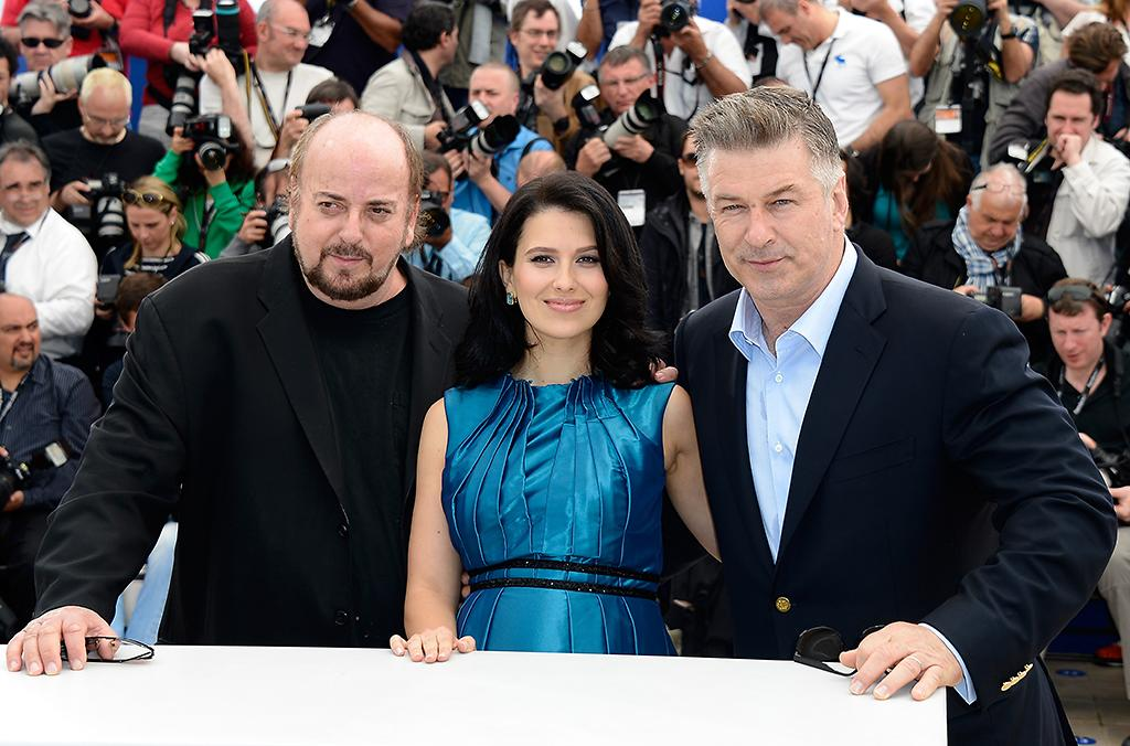 CANNES, FRANCE - MAY 21: (L-R) Director James Toback, Hilaria Baldwin and actor Alec Baldwin attend the 'Seduced And Abandoned' Photocall during The 66th Annual Cannes Film Festival at the Palais des Festivals on May 21, 2013 in Cannes, France.  (Photo by Pascal Le Segretain/Getty Images)