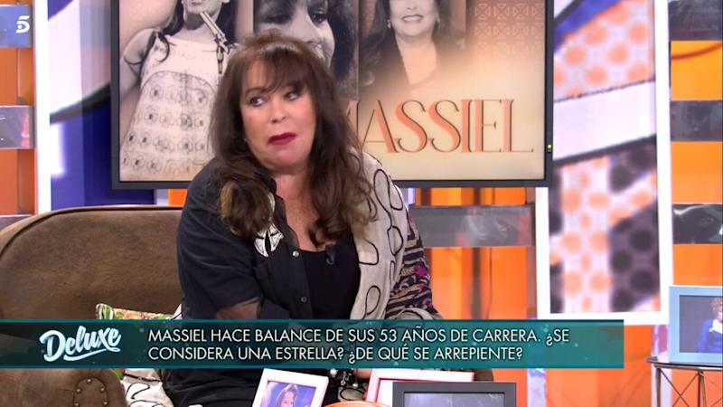 Massiel en 'Sábado Deluxe'. (Photo: Telecinco)