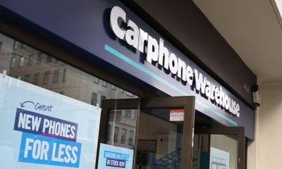 Embattled Carphone Warehouse owner to shut 92 stores