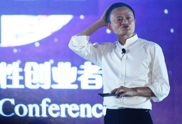 HANGZHOU, CHINA - JULY 10, 2017 - Ant Group founder Jack Ma attends the 2017 Global Women Entrepreneurs Conference. Hangzhou city, Zhejiang Province, China, July 10, 2017. On November 3, the Shanghai Stock Exchange and the Hong Kong Stock Exchange suspended the listing of Ant Technology Group Co., LTD.- PHOTOGRAPH BY Costfoto / Barcroft Studios / Future Publishing (Photo credit should read Costfoto/Barcroft Media via Getty Images) (Photo: Barcroft Media via Barcroft Media via Getty Images)