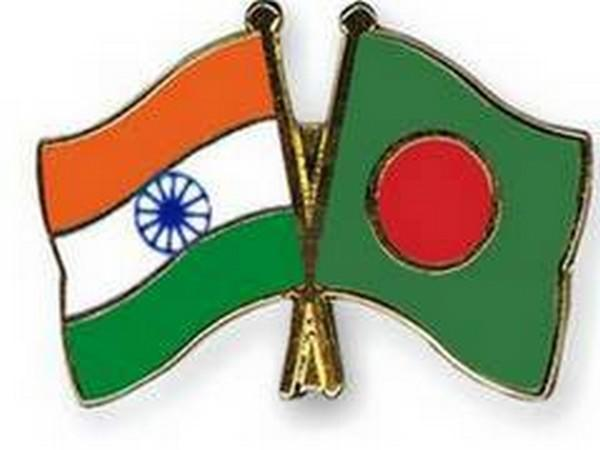 India, Bangladesh flags