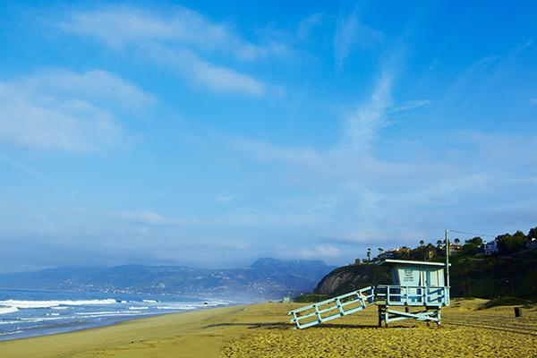 For a quieter day at the beach in Los Angeles, head to Malibu and Belmont Shore.