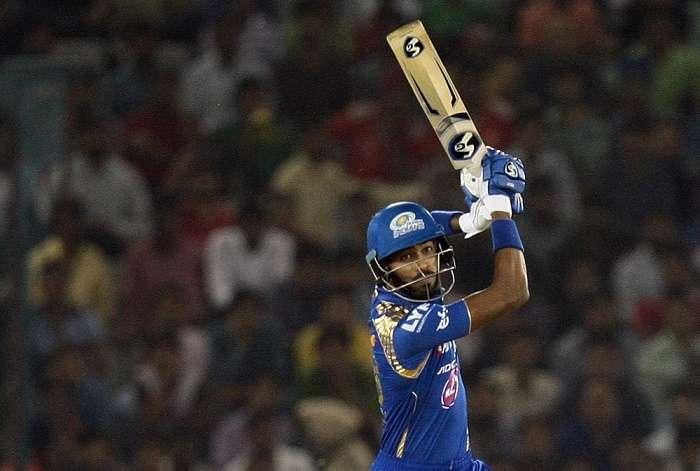 Hardik Pandya's fireworks take Mumbai Indians to 184/8 vs RPS