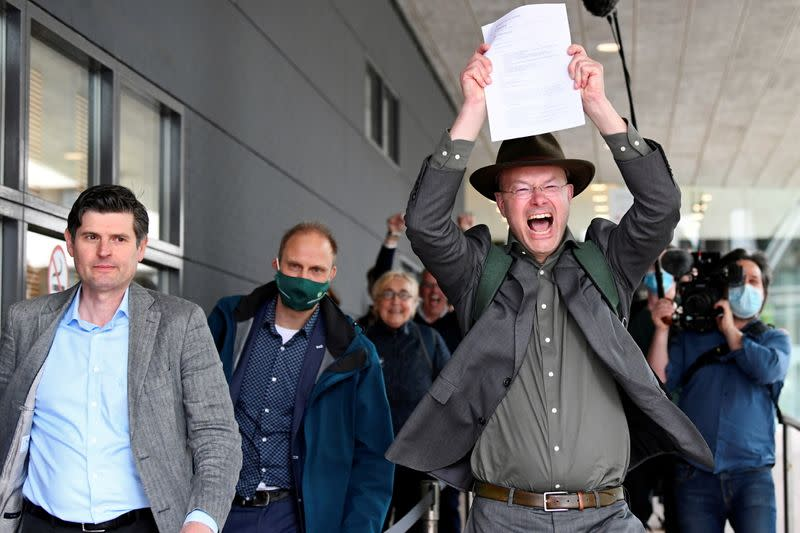 Dutch court orders Shell to deepen carbon cuts in landmark case