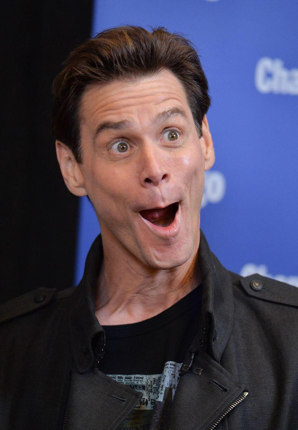 "<p>Carrey starred in the 2013 thriller <em>Kick-Ass 2</em>, released less than a year following the Sandy Hook Elementary School shooting. He <a href=""https://twitter.com/JimCarrey/status/348886602384281600"" rel=""nofollow noopener"" target=""_blank"" data-ylk=""slk:tweeted"" class=""link rapid-noclick-resp"">tweeted</a>, ""I did <em>Kick-Ass </em>a month before Sandy Hook and now in all good conscience I cannot support that level of violence."" </p>"