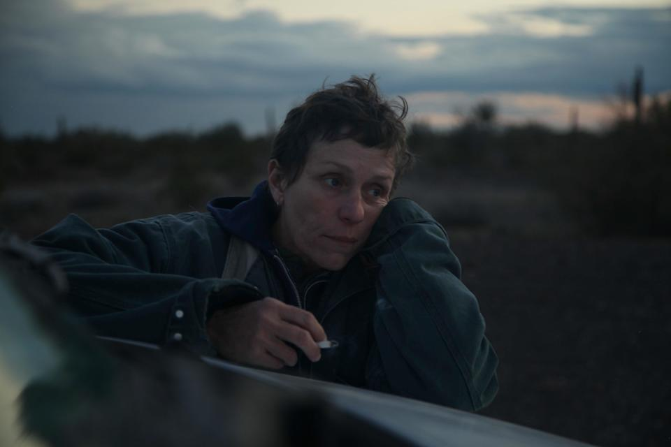 Frances McDormand as Fern in Nomadland (Joshua James Richards/Searchlight Pictures/20th Century Studios)
