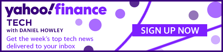 Subscribe to the Yahoo Finance Tech newsletter.
