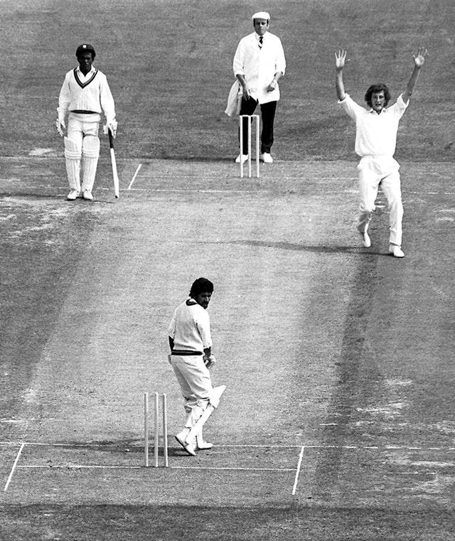 Willis made his one-day international debut in a home series against the West Indies in 1973 (Nick Potts/PA)