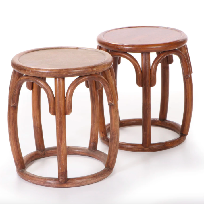 """<h2>Everything But The House<br></h2><br>If you love the thrill of the online auction house, """"EBTH"""" is for you. Bidding starts as low as $1 on a curated and authenticated selection of every bit of furniture and home decor under the sun. <br><br> Phillipine Yakal Wood Stools, $, available at <a href=""""https://go.skimresources.com/?id=30283X879131&url=https%3A%2F%2Fwww.ebth.com%2Fitems%2F11879191-phillipine-yakal-wood-stools"""" rel=""""nofollow noopener"""" target=""""_blank"""" data-ylk=""""slk:Everything But The House"""" class=""""link rapid-noclick-resp"""">Everything But The House</a>"""