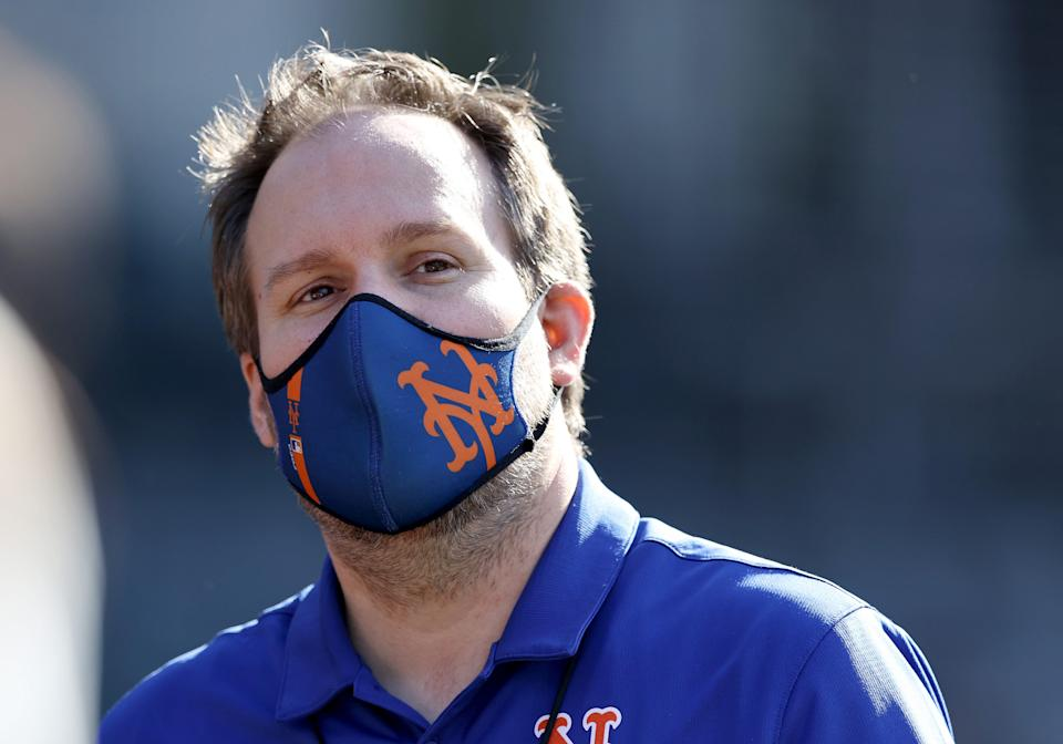 The Mets' acting general manager, Zack Scott, took over after the club fired Jared Porter for sending unsolicited text messages to a female reporter.