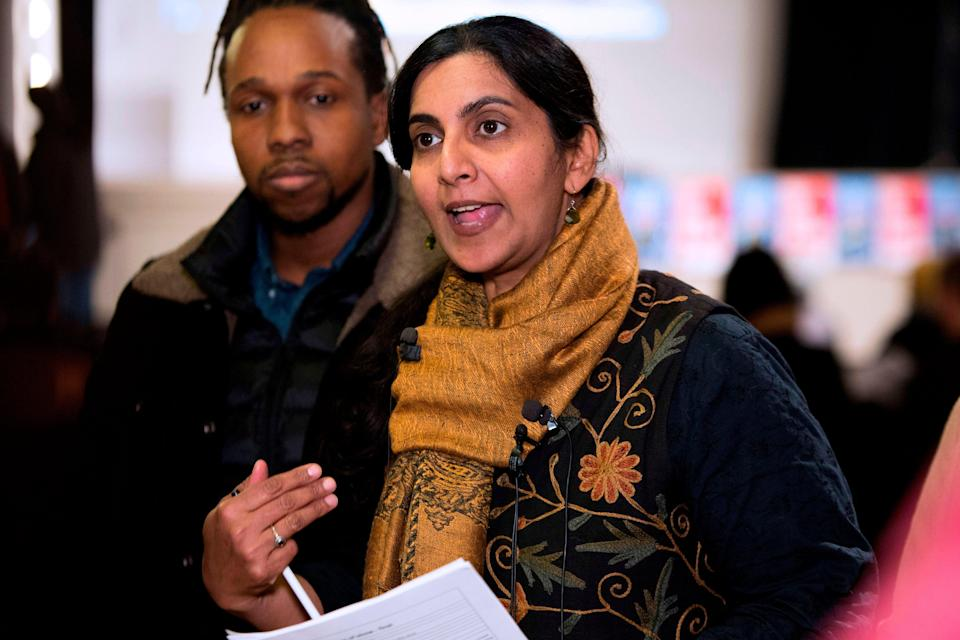 Kshama Sawant was first elected to Seattle City Council in 2013 (AFP via Getty Images)