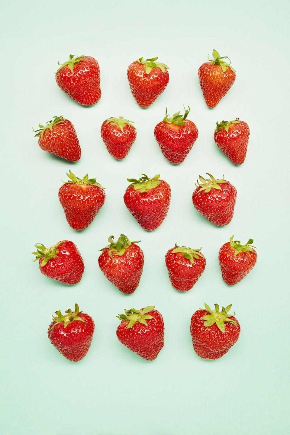 "<p>Polyphenols, which are plant-based compounds that naturally help to regulate your cardiovascular system, are found in high amounts in strawberries. <a href=""https://www.sciencedirect.com/science/article/abs/pii/S0955286313002490?via%3Dihub"" rel=""nofollow noopener"" target=""_blank"" data-ylk=""slk:Research has linked strawberries"" class=""link rapid-noclick-resp"">Research has linked strawberries</a> to a lower risk of heart disease due to their high polyphenol counts.</p><p><strong>RELATED:</strong> <a href=""https://www.goodhousekeeping.com/food-recipes/dessert/g4299/strawberry-desserts/"" rel=""nofollow noopener"" target=""_blank"" data-ylk=""slk:20 Lightened Strawberry Desserts for Summer"" class=""link rapid-noclick-resp"">20 Lightened Strawberry Desserts for Summer</a></p>"
