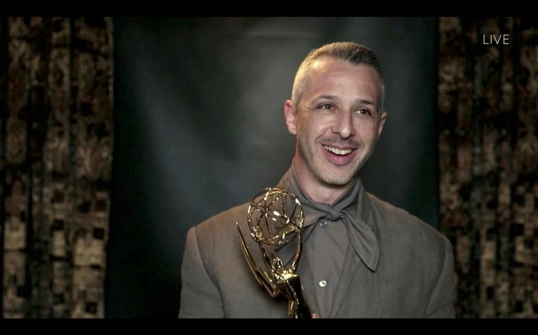 """""""Succession"""" star Jeremy Strong was emotional about his Emmy win for best lead actor in a drama series"""