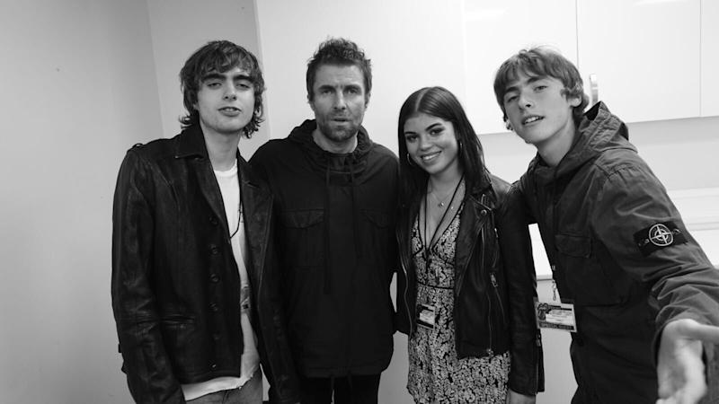Picture: Liam Gallagher shared a photo with Molly Moorish alongside songs Lennon and Gene: Instagram / Liam Gallagher