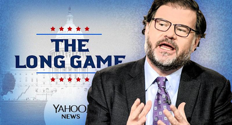 Jonah Goldberg (Photo illustration: Yahoo News; photo: William B. Plowman/NBC/NBC NewsWire via Getty Images)