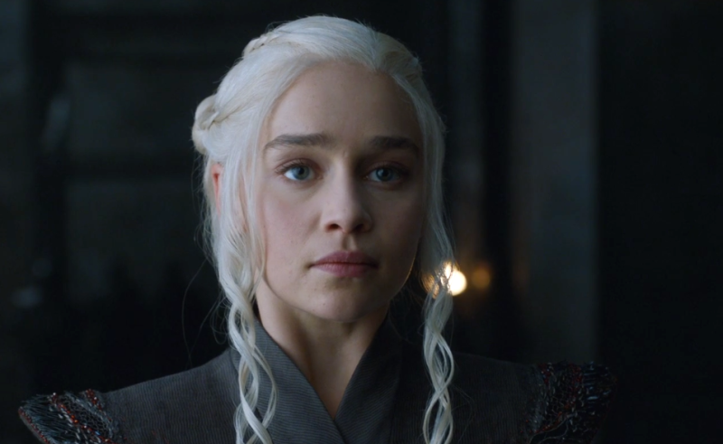 "Dany only says three words during the ""Game of Thrones"" season premiere, is still the most powerful AF character"
