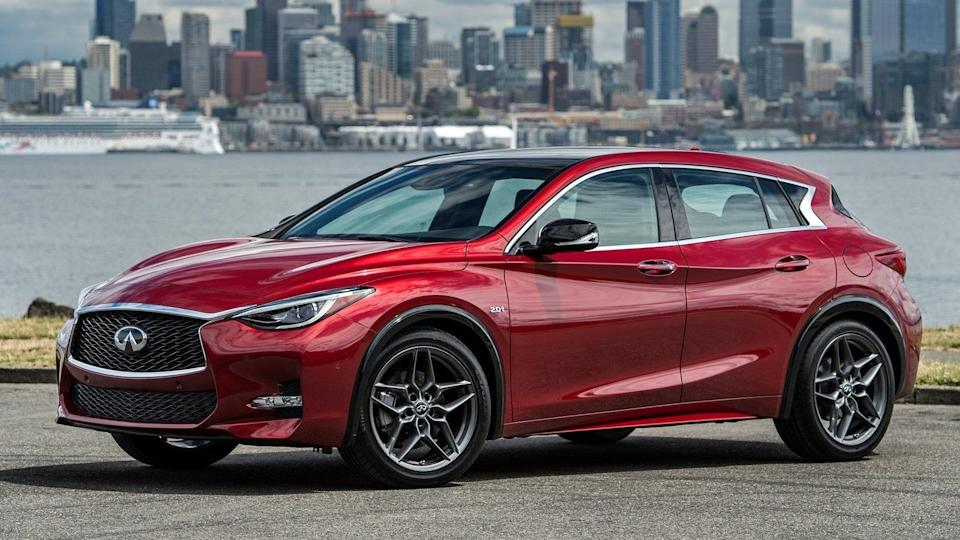 """<p><strong>Infiniti QX30, Q70</strong></p> <p>Infiniti ended production of the QX30 this year, which means that the little crossover has no chance of seeing the light of day in 2020. The car was simply a re-badged <a href=""""https://www.autoblog.com/2019/12/11/2021-mercedes-benz-gla-class-revealed/"""" data-ylk=""""slk:Mercedes-Benz GLA"""" class=""""link rapid-noclick-resp"""">Mercedes-Benz GLA</a>, so we have no hard feelings seeing it go. Another Infiniti that left us this year is <a href=""""https://www.autoblog.com/2019/10/25/infiniti-q70-cancelled-for-2020/"""" data-ylk=""""slk:the Q70"""" class=""""link rapid-noclick-resp"""">the Q70</a>. That's the biggest sedan in the lineup, so Infiniti doesn't have a flagship sedan any longer. We'll just consider the <a href=""""https://www.autoblog.com/2018/03/29/infiniti-limited-trim-qx60-qx80/"""" data-ylk=""""slk:gargantuan QX80"""" class=""""link rapid-noclick-resp"""">gargantuan QX80</a> the brand leader at this point. Expect to see a new luxury sedan show up with electric power eventually, though.</p>"""
