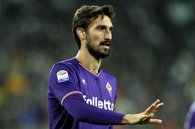 "<a class=""link rapid-noclick-resp"" href=""/soccer/players/davide-astori/"" data-ylk=""slk:Davide Astori"">Davide Astori</a> had been with <a class=""link rapid-noclick-resp"" href=""/soccer/teams/fiorentina/"" data-ylk=""slk:Fiorentina"">Fiorentina</a> since 2015. (Getty)"