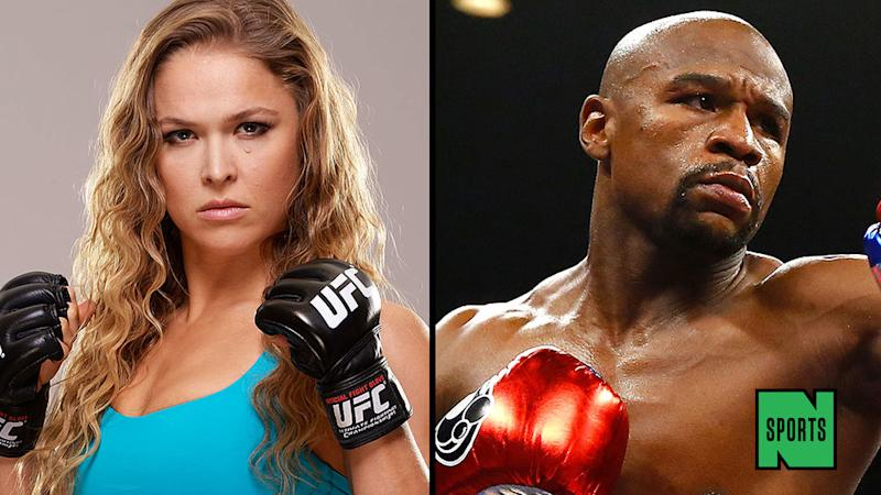 A History of Floyd Mayweather and Ronda Rousey's Beef