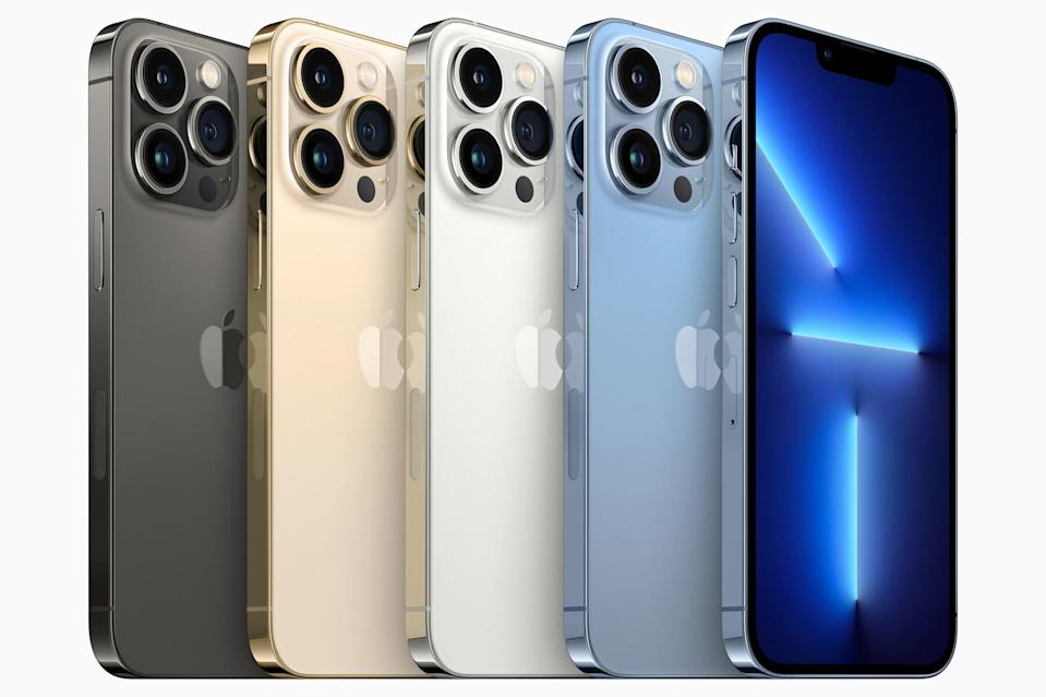 New Apple iPhone 13 Pro and Pro Max