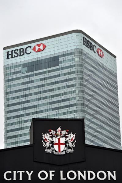 Financial analysts predict that HSBC may relocate its headquarters from London to Hong Kong, owing to its low tax regime (AFP Photo/Ben Stansall)
