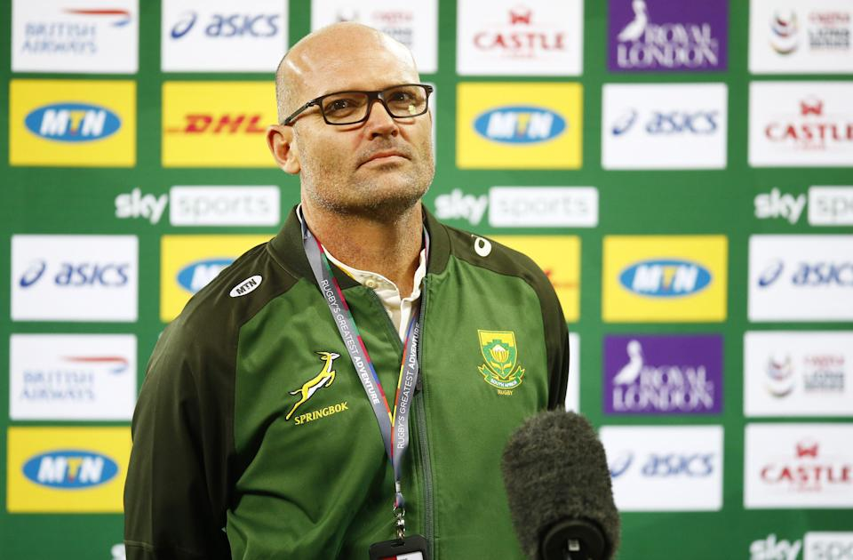 Jacques Nienaber lamented South Africa's ill discipline and lack of precision in defeat to the British and Irish Lions (Steve Haag/PA) (PA Wire)