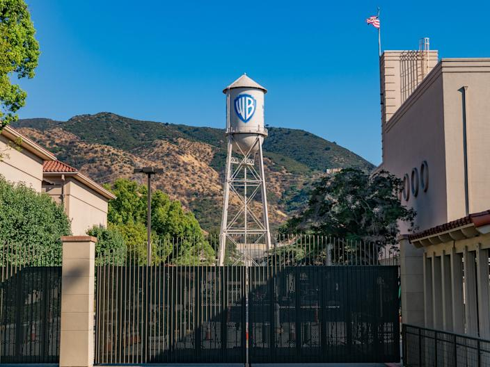 "The Warner Bros. film studio lot in Burbank, California. <p class=""copyright"">AaronP/Bauer-Griffin/GCImages via Getty Images</p>"
