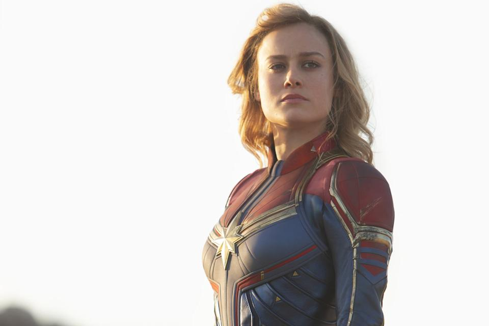 Captain Marvel Is Stronger Than Thanos But There S A Catch Carol danvis, phyla vell, monica rambeau, genis vell. captain marvel is stronger than thanos