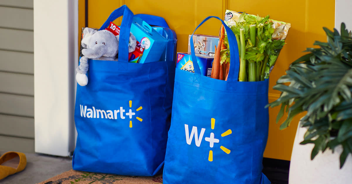 Walmart+ is the convenient, budget-friendly way to shop Walmart, both online and in stores. (Photo: Walmart)