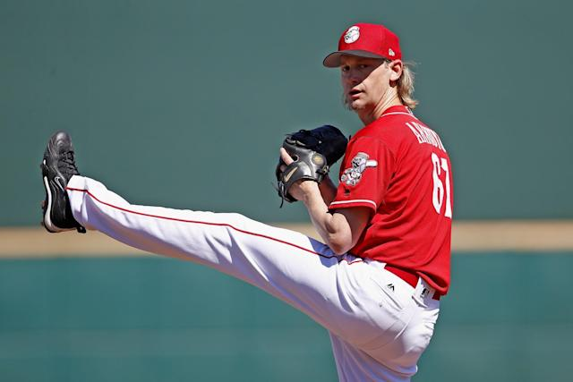 At 40 years old, Bronson Arroyo is on the comeback trail for the Reds. (AP)