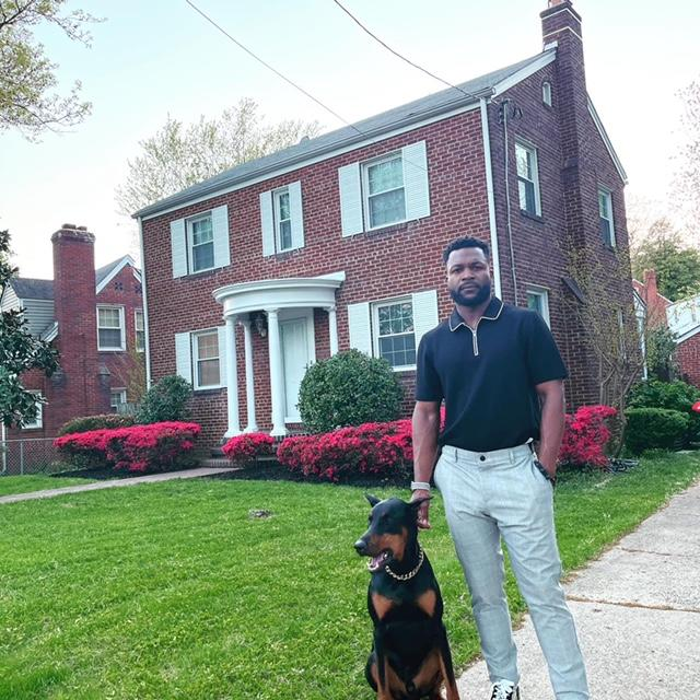 Terrance Leonard use gains from his cryptocurrency investments to purchase a new house in February. (Credit: Terrance Leonard)