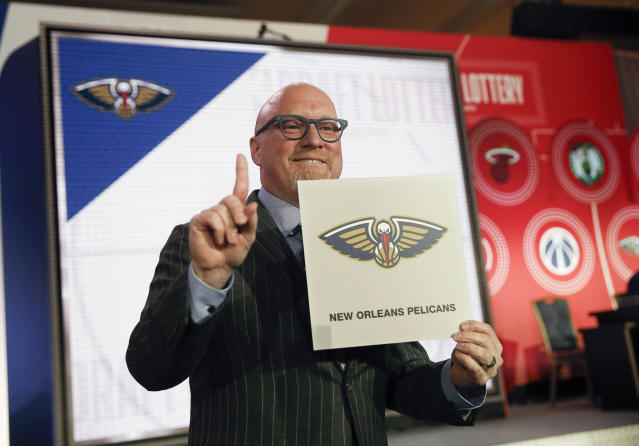 Between Zion Williamson and some trade possibilities, the Pelicans should have an interesting draft night. (AP Photo/Nuccio DiNuzzo)